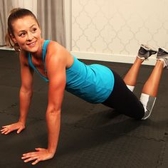 10-Minute Workout to Tone Arms, Legs, and Abs
