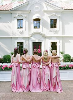 Photography: Melissa Schollaert Photography - msp-photography.com Planning + Production: Toast Events - toast-events.com Decor, Floral, and Lighting Design: Andy Beach - andybeach.com/ Read More: http://www.stylemepretty.com/2011/08/16/the-pink-palace-wedding-by-melissa-schollaert-photography-toast-events/