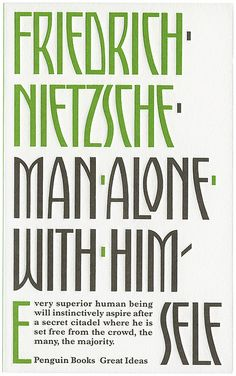 Man Alone with Himself  by Phil Baines