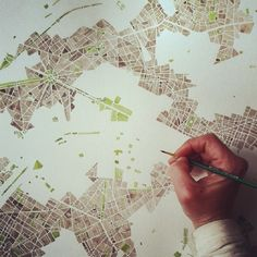 Paris #sepia #park #green #blue #watercolor #map #art #handpainted #summitridge Rustic Wall Decor, Rustic Walls, Furniture Painting Techniques, Globe Decor, World Globes, Aerial Images, Map Globe, Paris Map, Watercolor Map
