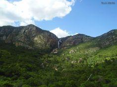 Cachoeira do Brumado, em Livramento de Nossa Senhora - Bahia