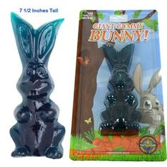 Giant Gummy Bunny Blue Raspberry - Giant Gummy Bunny in a blue raspberry flavor. This candy bunny stands 7 inches tall. Easter Candy, Easter Gift, Flavored Marshmallows, Candy Companies, Avengers Birthday, Everyday Hacks, Candy Buffet, Buffets, Bibs
