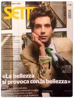SETTE, Corriere della Sera, MIKA, 3/10/2014, copertina