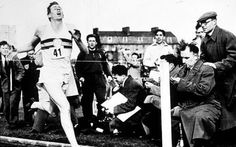 Sir Roger Bannister breaking the 4 minute mile....right after working a full shift of Dr rounds at the hospital.