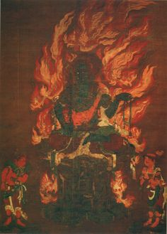 Acala, Achala अचल; immovable, one is a guardian deity primarily revered in Vajrayana Buddhism in Japan, China and elsewhere.