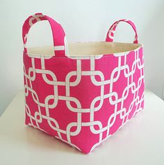 Hey, I found this really awesome Etsy listing at https://www.etsy.com/listing/188491477/storage-basket-fabric-organizer-with