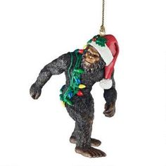 Bigfoot, the Yeti Holiday Ornament $19.90