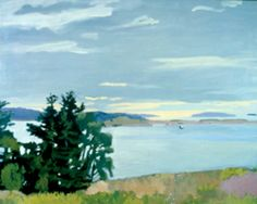 Fairfield Porter - the light, the sky - so beautiful!
