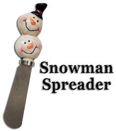 Snowman Spreader Knife