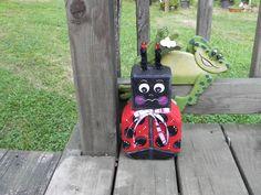 Ladybug Paver, I Painted