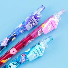 Melty Café Desserts Pen Japanese Pen, 2b Pencil, Kawaii Pens, Different Coffees, Kawaii Stationery, Gumball Machine, Kawaii Shop, Welcome Gifts, Mechanical Pencils