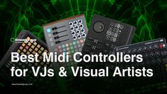 Best Midi Controllers for VJs These are the top Midi Controllers for VJS based on the layout and usability at live events. Midi Keyboard, Native Instruments, Live Set, Ableton Live, Multi Touch, You Are Perfect, Live Events, Software, Lime