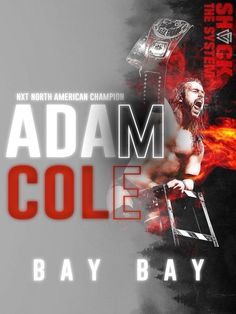 Adam Cole, Bay And Bay, Champion, American, Movie Posters, Movies, Films, Film Poster, Cinema