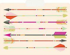 Arrows File Folders
