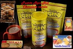 Dulces Tipicos Puerto Rico Hot Chocolate, Chocolate Cortes Puerto Rico