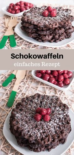 A simple recipe for chocolate waffles. The waffles taste very chocolatey, but are not too sweet. Ideal as a breakfast. A simple recipe for chocolate waffles. The waffles taste very chocolatey, but are not too sweet. Ideal as a breakfast. Chocolate Waffles, Chocolate Recipes, Brunch, Tasty, Yummy Food, Indian Desserts, Waffle Recipes, Snacks, Chip Cookies