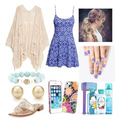 """""""Last Day Of School Outfit!"""" by emily5302 ❤ liked on Polyvore featuring H&M, MANGO, Jack Rogers, Vera Bradley, Devoted and alfa.K"""