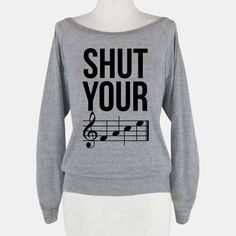 Shut Your (FACE) | Sweatshirt | HUMAN