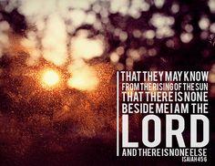 Isaiah 45:6
