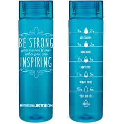 WANT This! Aqua Inspire Motivational Water Bottle™