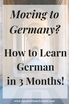 Learn how to speak German in 3 months with Lingoda's Moving to Germany program Foreign Language Teaching, German Language Learning, Language Lessons, Learn A New Language, Spanish Language, Study German, Learn German, Learn French, German Grammar