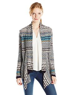 NICZOE Womens Shaded Stripes Cardy Multi Medium * You can get additional details at the image link.(This is an Amazon affiliate link and I receive a commission for the sales)