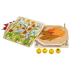 Wooden Flower Press for Kids made in Germany