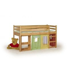 Pat din lemn de pin pentru copii Emi Bunk Beds, Furniture, Home Decor, Decoration Home, Loft Beds, Room Decor, Home Furnishings, Home Interior Design, Bunk Bed