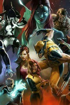 Mystique, Sabertooth, Jubilee, Kitty Pride, Wolverine & Nightcrawler