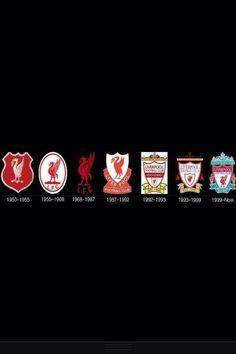 Evolución del logotipo del Liverpool
