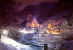 Georgios Kout,Ramsau, Bavarian Alps, Germany Trefl Christmas puzzle 1500 Pieces