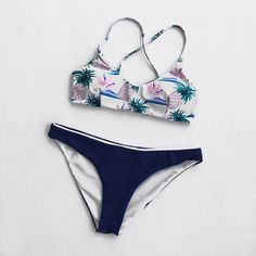 Cupshe Walking On the Bare Pineapple Bikini Set
