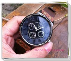 Men watches cool watchesleather watchBest by BraceletParadise