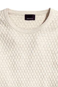Pull en maille structurée | H&M