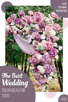 The Best Wedding Color Ideas For 2020 Some wedding colors are themed and season-specific but others are simply versatile. Score a wedding for 2020 with the trendy wedding color. Wedding Planning Tips, Wedding Tips, Trendy Wedding, Wedding Bride, Wedding Dresses, Pink And White Flowers, White Roses, Popular Wedding Colors, Wedding Colours