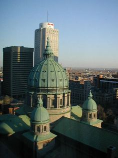Montreal Pictures: Marie-Reine-du-Monde Cathedral