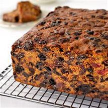 Recipes for fruit cakes with brandy