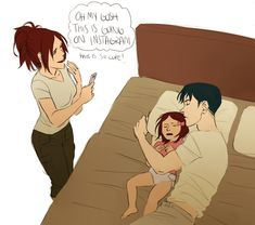 Hanji x Levi, I don't know if I ship them but it's so cute!