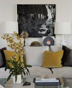 living room | interiors | june/july 2012  color scheme - mood
