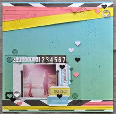 Made with the Frida Kollektion by jannawerner scrapbooking Layout Summer