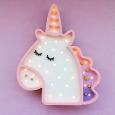 Unicorn marquee- super adorable!