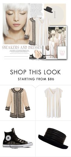 """""""SNEAKERS and DRESSES - HAPPY SUNDAY!!"""" by blogthegoodlife ❤ liked on Polyvore featuring Bella Tu, Alexander Yamaguchi and Kokin"""