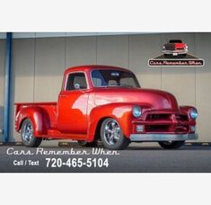 1954 Chevrolet 3100 Classics for Sale - Classics on Autotrader Classic Trucks For Sale, Best Classic Cars, Chevrolet 3100, Chevy, Seat Foam, Car Deals, Roof Repair, Fuel Injection, Pickup Trucks