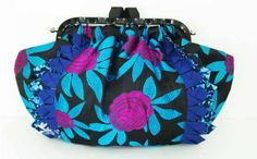 Need a cutie to carry your little must-haves ? With its pretty mix of colorful fabric is just the thing. Made of rayon, polished linen yarns and modern high lustre polyester yarns. Dialog handbags are easy to spot because they each feature four-fold patchwork trim made from recycled cloth.  www.buymedesign.com  Price: $130