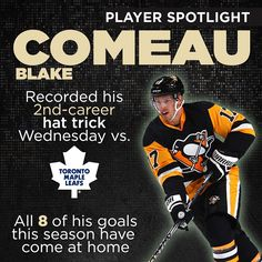 Home game? Perfect. That's Blake Comeau's specialty.