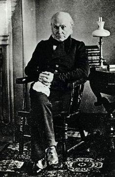 6. John Quincy Adams  http://www.wikitree.com/wiki/Adams-12  #wikitree #genealogy #presidents