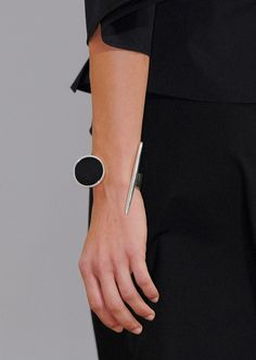 Black and white Sophie Buhai Jewelry for Lemaire SS16
