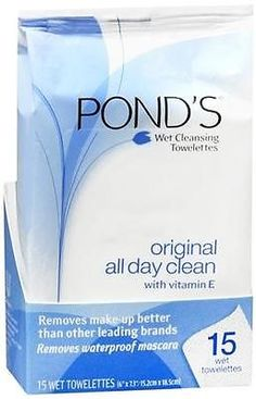 Check out this item! I found it on RedLaser! POND'S All Day Clean Wet Cleansing Towelettes, 15 ct - 0305211400008 http://redlaser.com/lists/?list=3fa2f1be-b2d2-4dab-b36a-62db2eb338fe