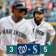 Dustin Ackley delivers big 3-run homer as #Mariners take series finale over #Nationals. 8/31/14