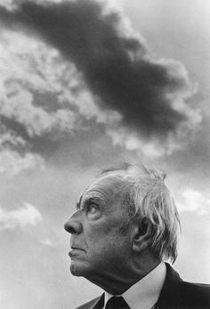 """Jorge Luis Borges, escritor argentino autor de """"El aleph"""" y """"Ficciones"""". Nacido el 24 de agosto de 1899. Fotografía de Ferdinando Scianna."""